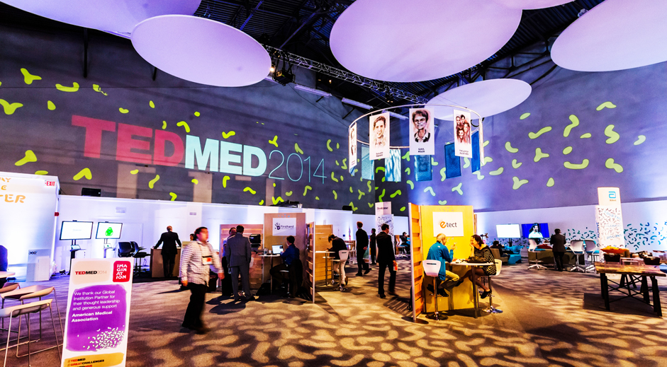 TedMed Lighting and Projection