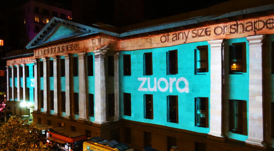Zuora Building Projection