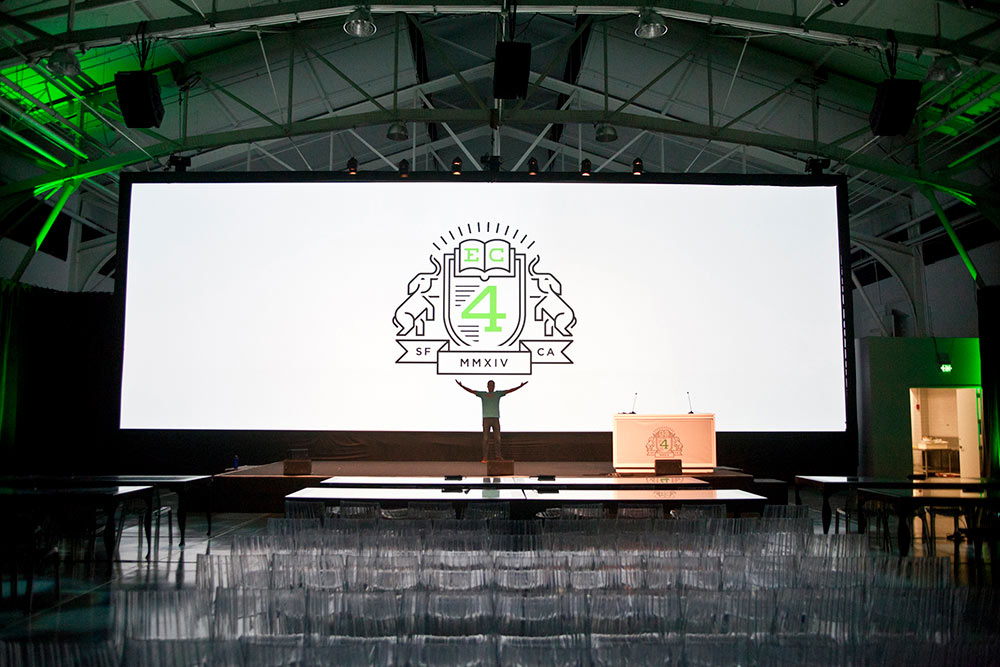Evernote EC4 Conference lighting